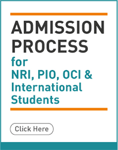 Admissions for NRI, PIO, CIO & International students
