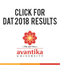 Avantika University Design Aptitude Test Result 2018-19